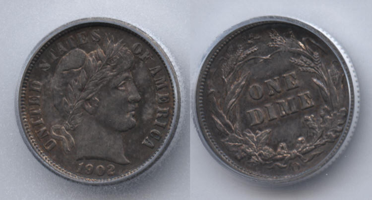 1902-O Barber Dime ICG MS-60 small