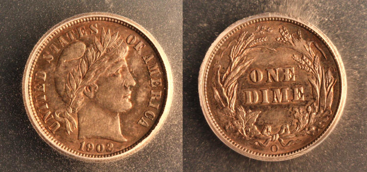 1902-O Barber Dime ICG MS-60 camera small