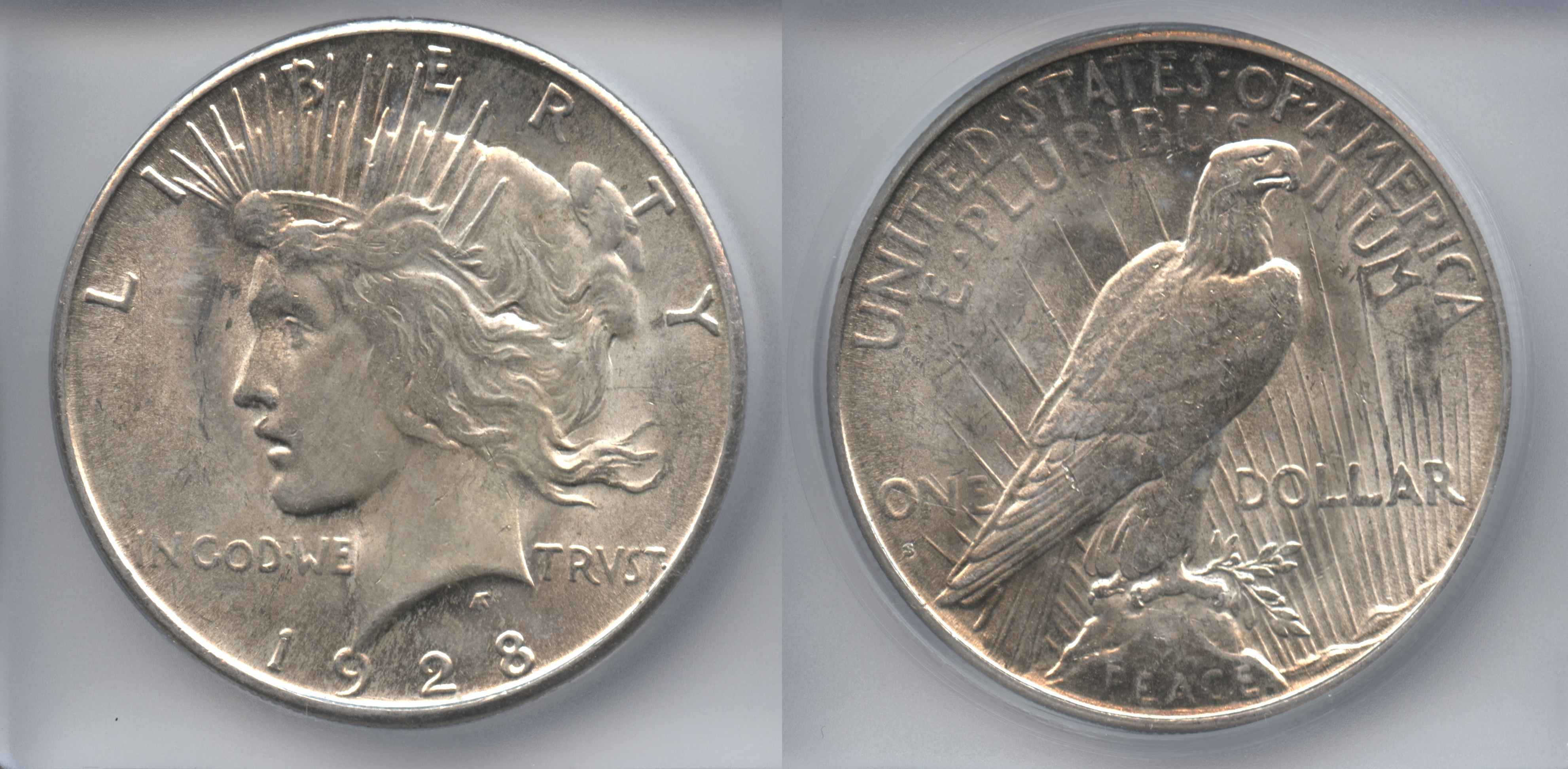 1928-S Peace Silver Dollar ICG MS-60