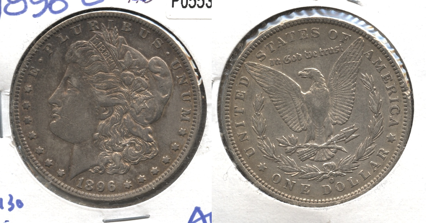 1896-O Morgan Silver Dollar EF-45 #a