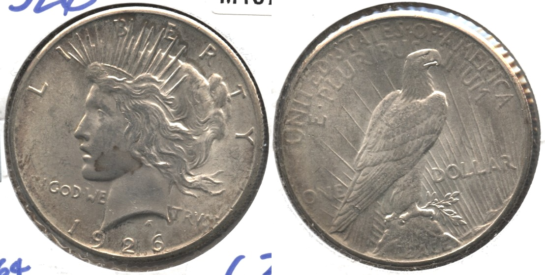 1926 Peace Silver Dollar MS-63 #c