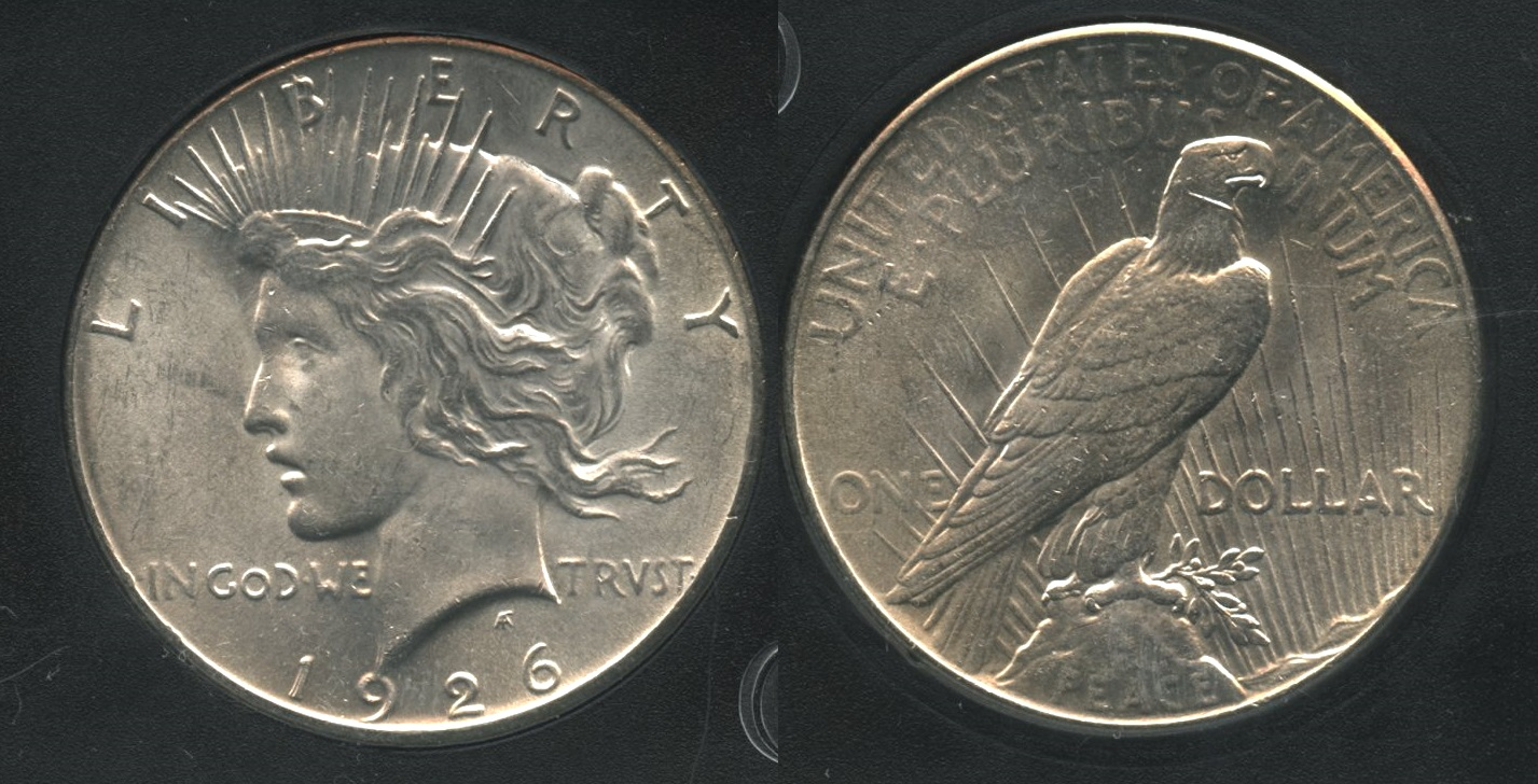 1926 Peace Silver Dollar MS-63 #g
