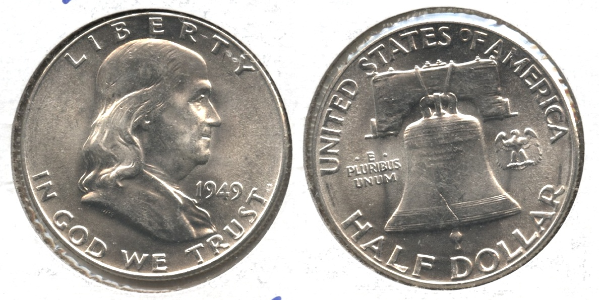 1949 Franklin Half Dollar MS-63 #g