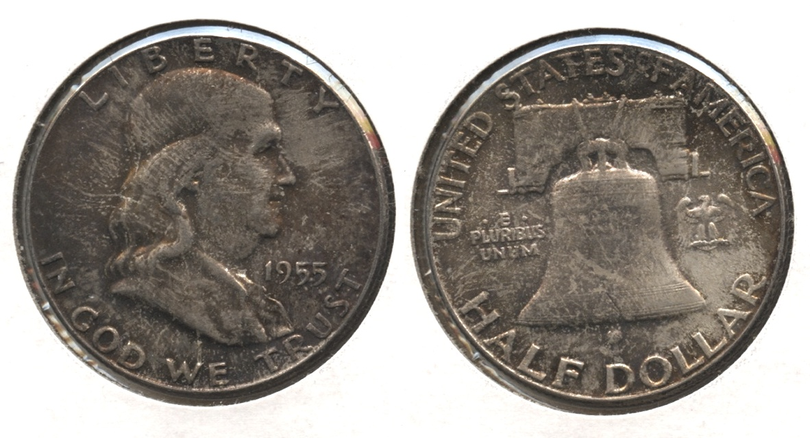 1955 Franklin Half Dollar MS-64 #p