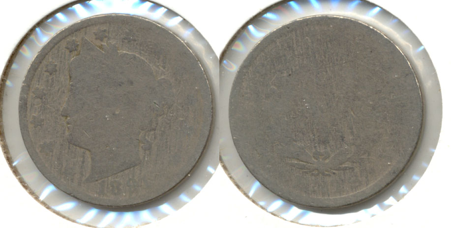 1891 Liberty Head Nickel Fair-2 d
