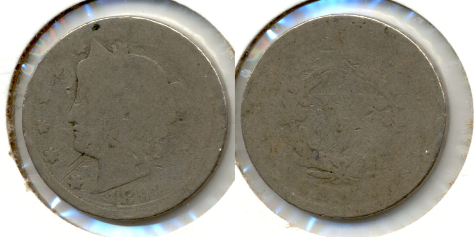 1892 Liberty Head Nickel Fair-2 g
