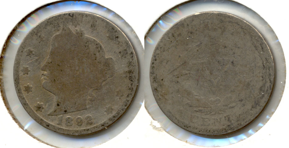 1892 Liberty Head Nickel Fair-2 j