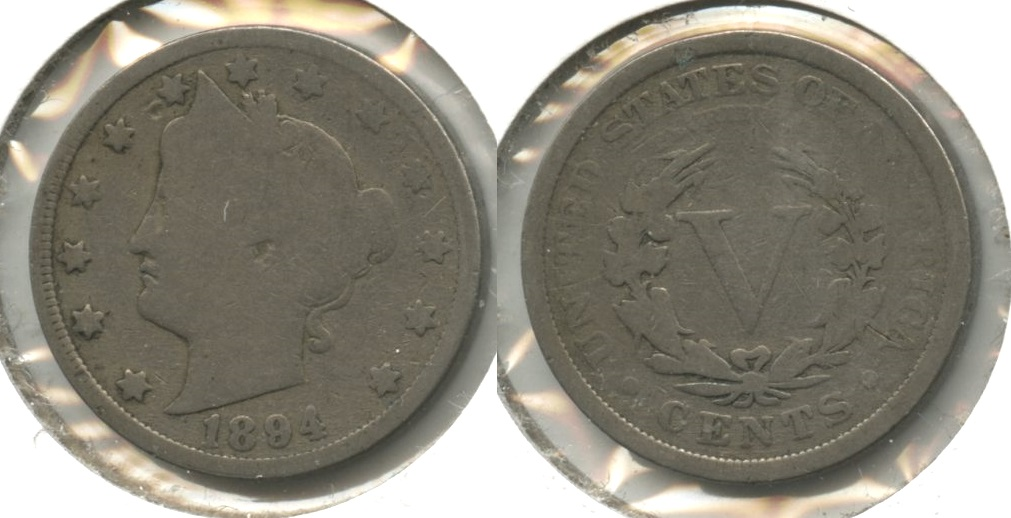 1894 Liberty Head Nickel Good-4 #s