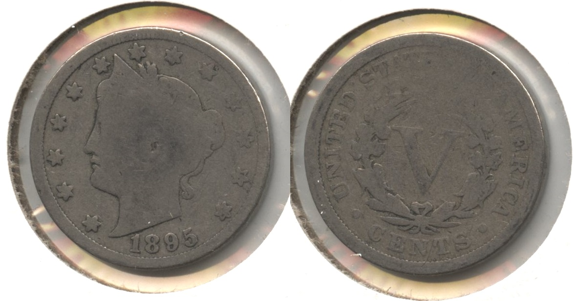 1895 Liberty Head Nickel Good-4 #am