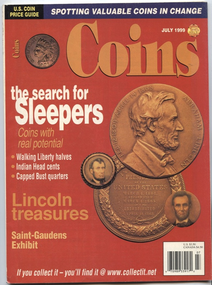 Coins Magazine July 1999