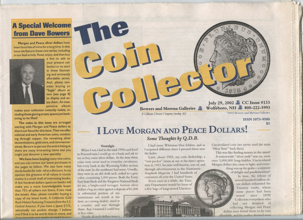 Bowers and Merena The Coin Collector #133