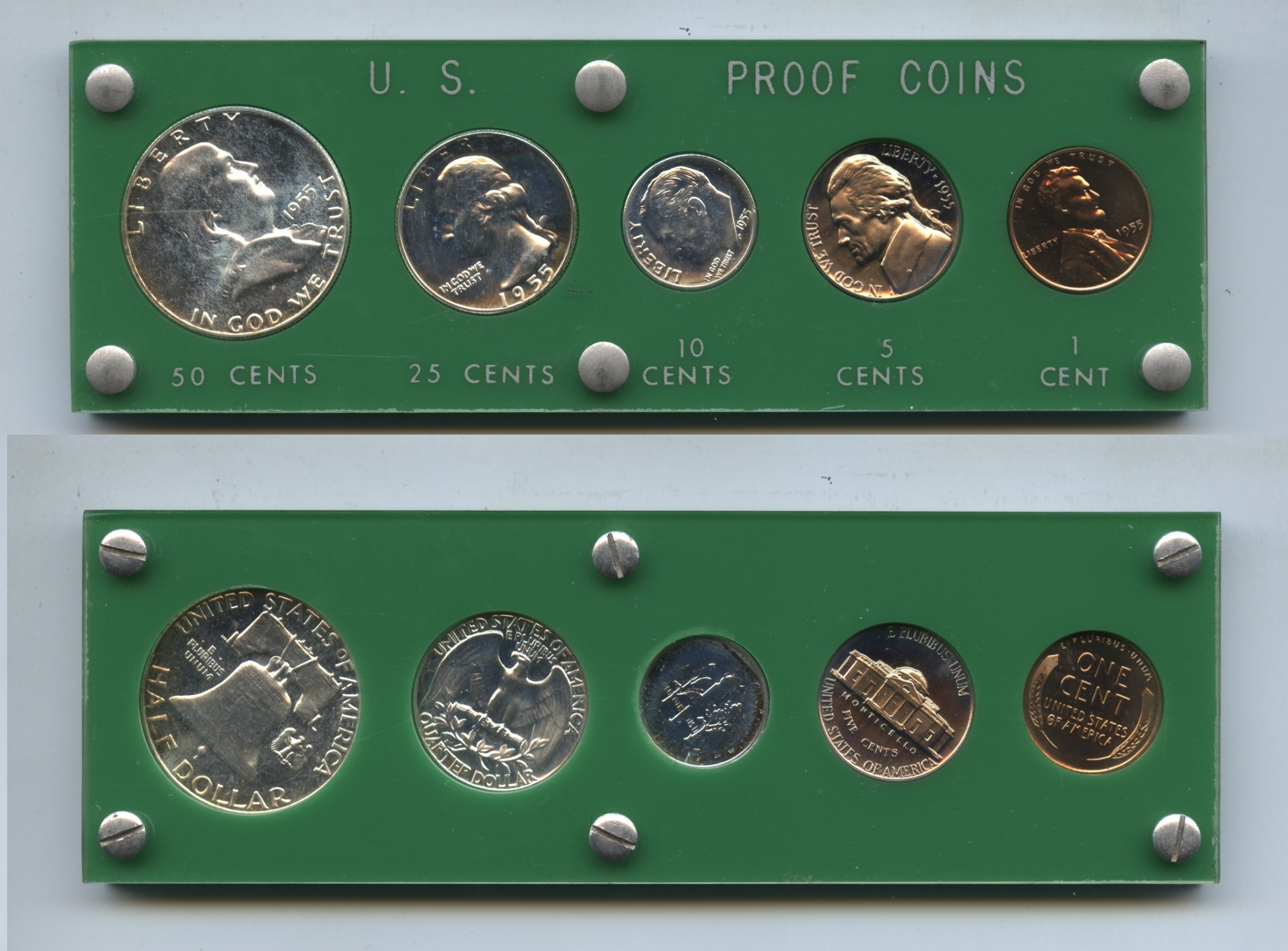 1955 United States Proof Set #a