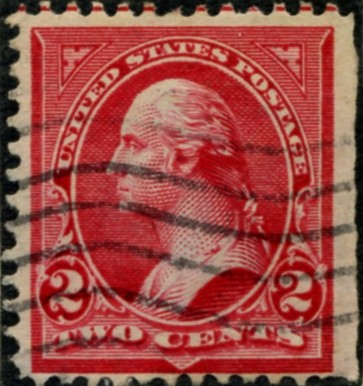 Scott 279b Washington 2 Cent Stamp Red