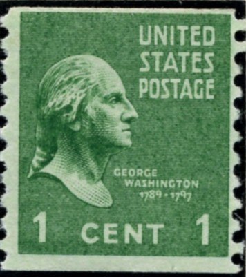 Top Images For George Washington 1 Cent Green Stamp On Picsunday 20 07 2018 To 0111