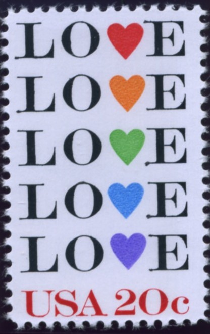 Alaska Coin Exchange Presents The Scott 2072 20 Cent Love Stamp