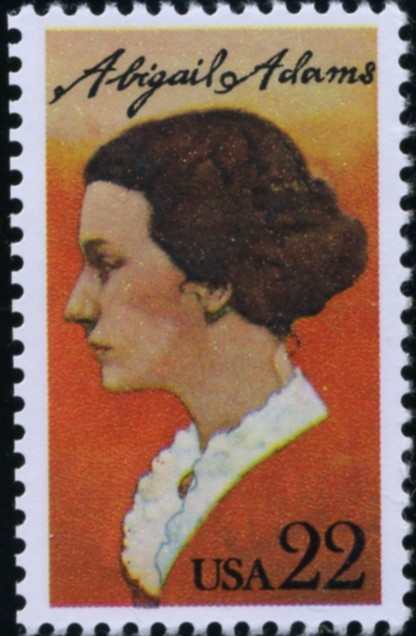 Scott 2146 22 Cent Stamp Abigail Adams